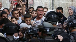 temple mount protest