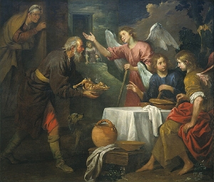 Giovanni_Andrea_de_Ferrari_-_Abraham_and_the_Three_Angels