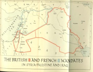 british and french mandates