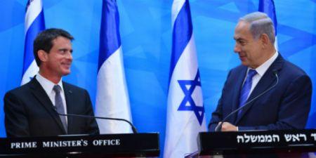 benjamin-netanyahu-valls-france-israel