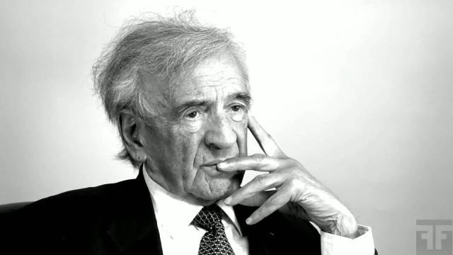 Elie Wiesel on Words | FirstOneThrough