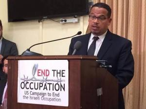 keith-ellison-end-the-occupation-podium